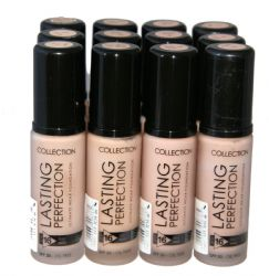12 x Collection Lasting Perfection Foundation | Warm Beige | RRP £72